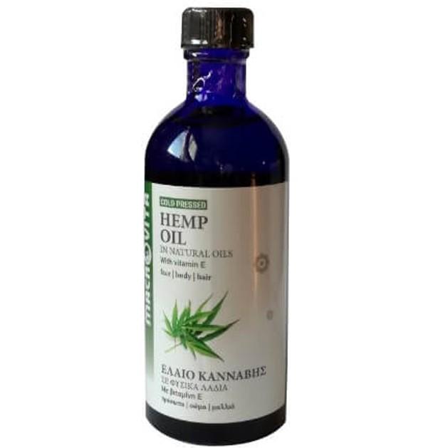 Macrovita Hemp Oil with Vitamin E 100ml