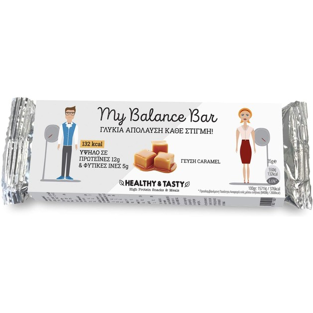 Power Health My Balance Bar  Caramel 35gr