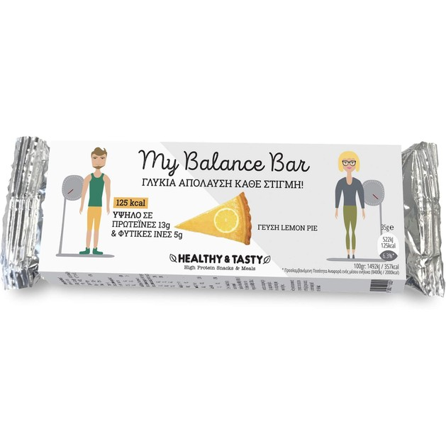My Balance Bar Lemon Pie 35gr - Power Health