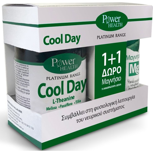 Power Health Πακέτο Προσφοράς Platinum Cool Day 30tabs & Magnesium 10Effer.tabs