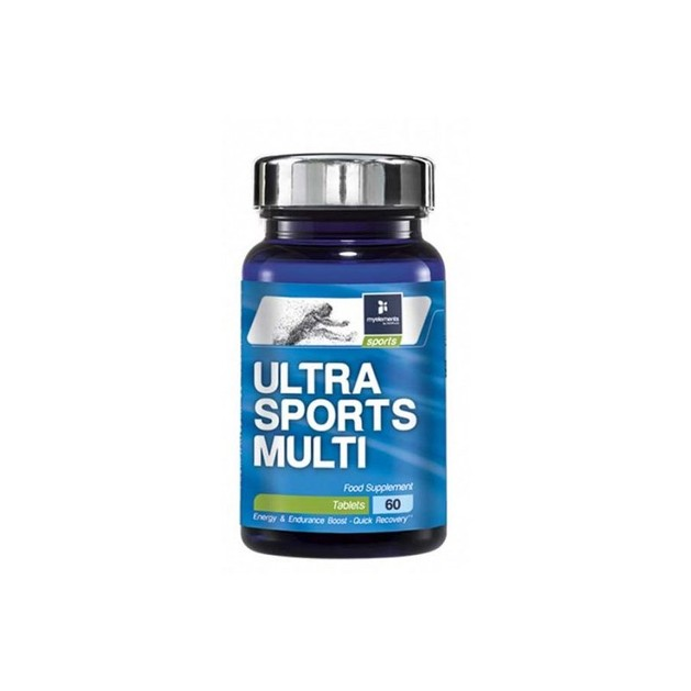 My Elements Sports Ultra Sports Multi Συμπλήρωμα Διατροφής, Ειδικά Σχεδιασμένη Φόρμουλα για Αθλητές 60tabs