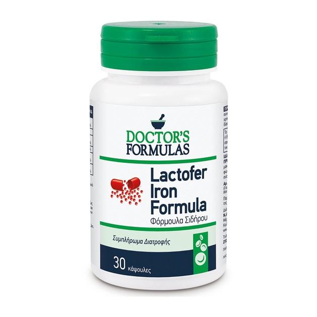 Doctor\'s Formulas Lactofer Iron Formula 30caps