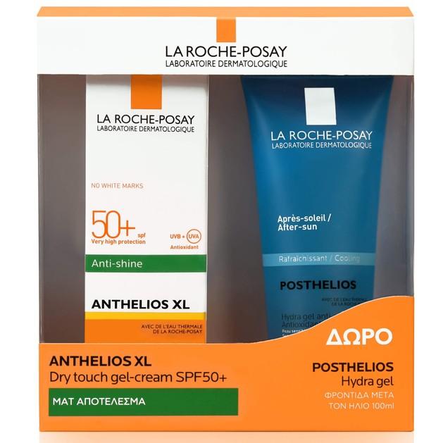 La Roche-Posay Πακέτο Προσφοράς Anthelios XL Dry TouchSpf50+ Αντηλιακό Προσώπου50ml & Δώρο Posthelios After Sun 100ml