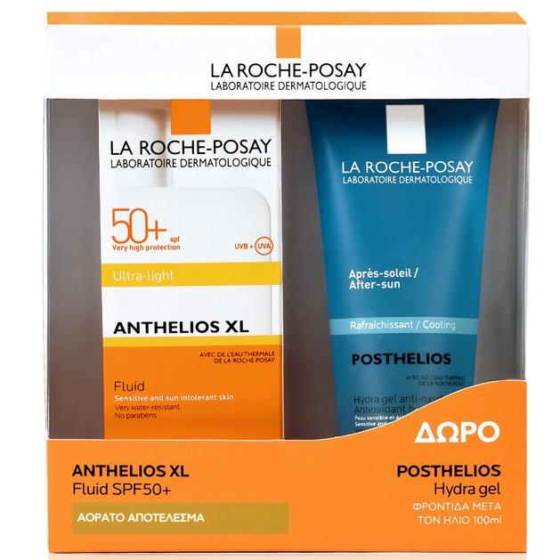 La Roche-Posay Πακέτο ΠροσφοράςAnthelios XL Ultra-Light Fluid Spf50+50ml & Δώρο Posthelios After Sun 100ml