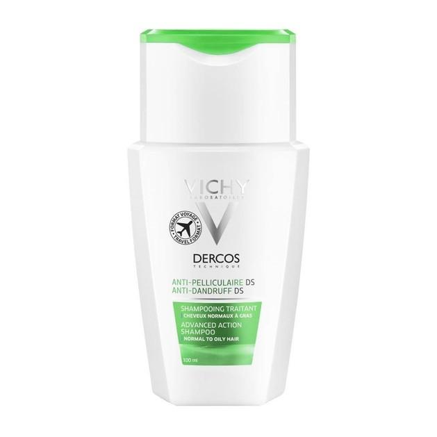 Δώρο Vichy Dercos Shampoo Anti-Dandruff Ds Normal-Oily, Κανονικά Λιπαρά Μαλλιά 100ml