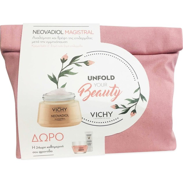 Vichy Promo Neovadiol Magistral 50ml & Δώρο Neovadiol Phytosculpt 15ml, Masque Peel Double Eclat 15ml, Mineral 89 Soin Yeux 1ml