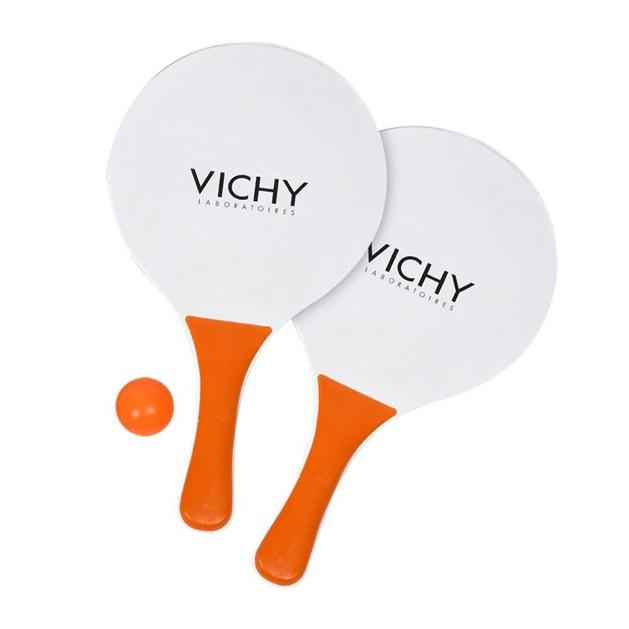 Δώρο Vichy Beach Rackets Σετ Ρακέτες Παραλίας 1 Ζευγάρι