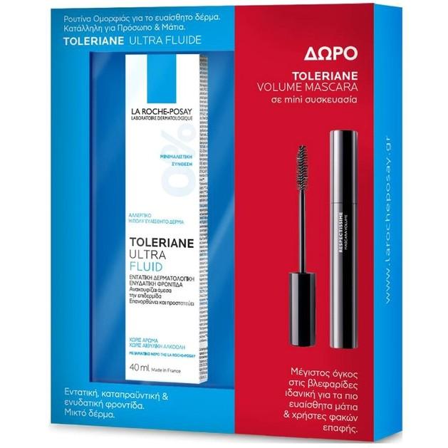 La Roche Posay Promo Toleriane Ultra Fluide 40ml & Toleriane Mascara Volume 4,5ml