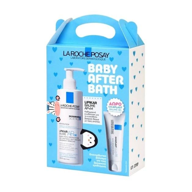 La Roche-Posay Promo Baby After Bath Lipikar Baume AP+M 400ml & Cicaplast Baume B5 15ml