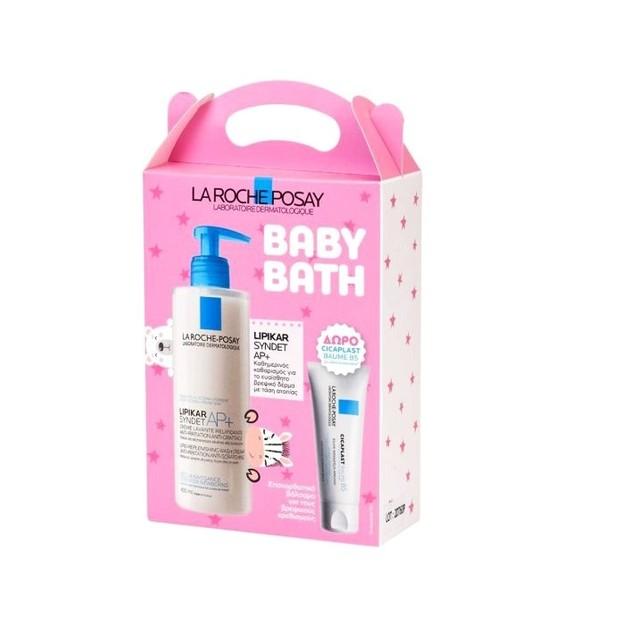La Roche-Posay Promo Baby Bath Lipikar Syndet AP+ Anti Irritation Anti Grattage 400ml & Cicaplast Baume B5 15ml