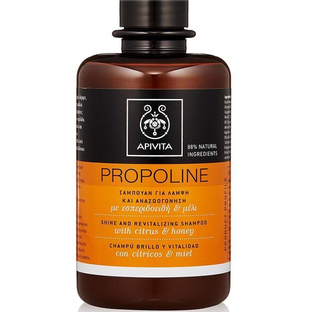 Δώρο Apivita Propoline Shine & Revitalizing Shampoo Σαμπουάν με Εσπεριδοειδή & Μέλι για Λάμψη & Αναζωογόνηση 75ml