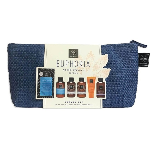 Apivita Travel Kit Euphoria Ολοκληρωμένη Φροντίδα για Κάθε Ταξίδι