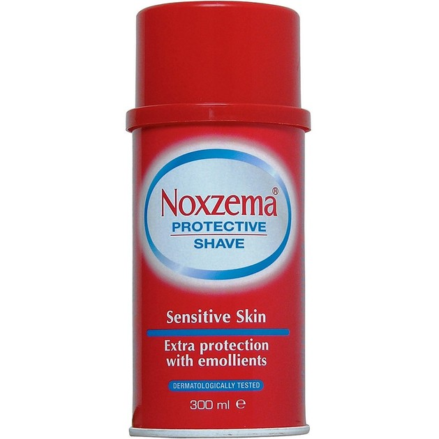 Noxzema Protective Shave Sensitive Αφρός Ξυρίσματος για Ευαίσθητο Δέρμα με Σύστημα Ενυδάτωσης 300ml