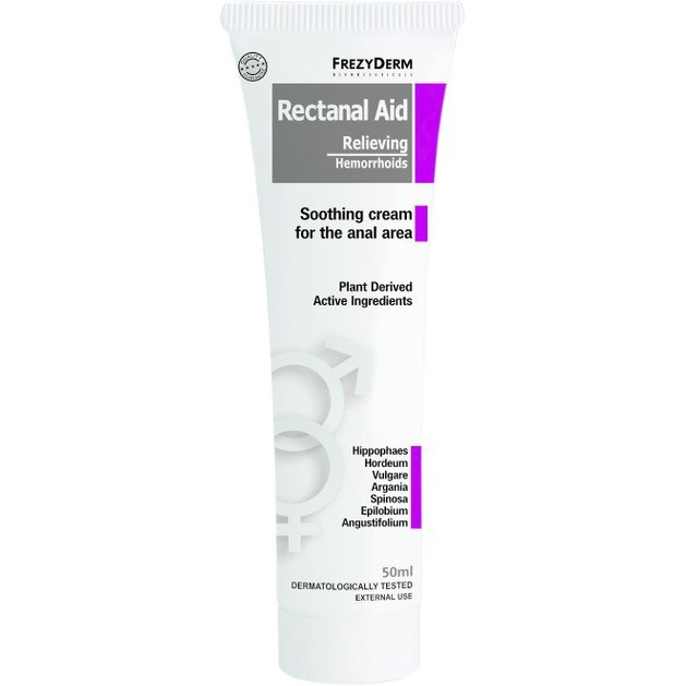 Rectanal Aid Creme 50ml - Frezyderm