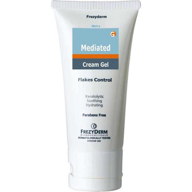 Frezyderm Mediated Cream-Gel Τζελ Ενυδάτωσης & Κερατόλυσης Αφαιρεί τα Λέπια 50ml