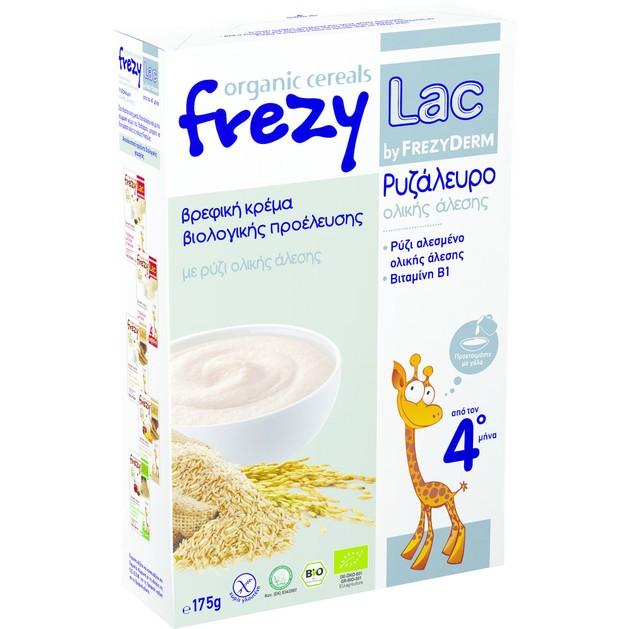 Frezyderm Frezylac Bio Cereal Ρυζάλευρο Ολικής Άλεσης 175gr