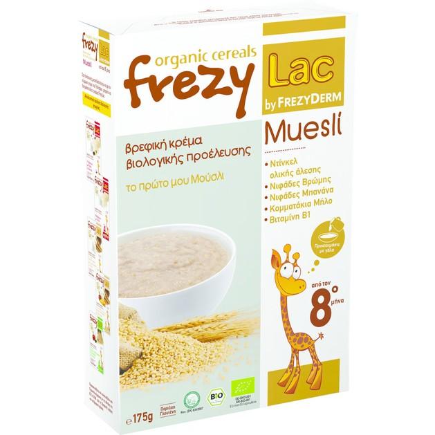 Frezyderm Frezylac Organic Cereal Muesli 175gr
