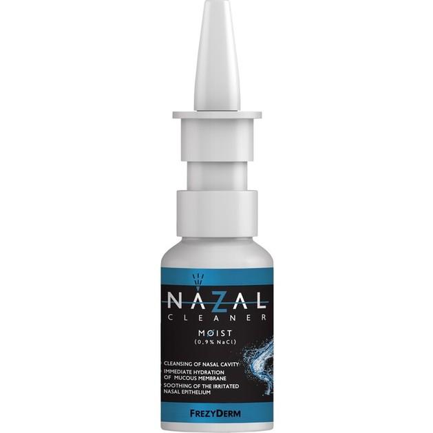 Frezyderm Nazal Cleaner Moist Spray, Καθαρίζει την Ρινική Κοιλότητα, Ενυδατώνει & Καταπραΰνει το Ερεθισμένο Ρινικό Επιθήλιο 30ml