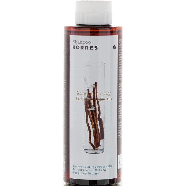 Liquorice & Urtica Shampoo για Λιπαρά Μαλλιά 250ml - Korres