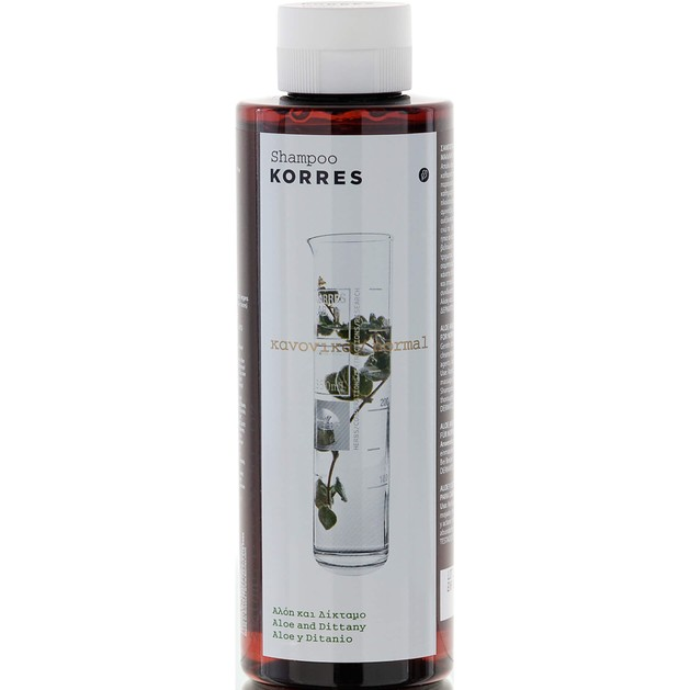 Korres Aloe & Dittany Shampoo για Κανονικά Μαλλιά 250ml