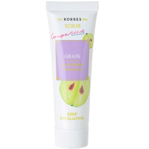 Korres Grape Scrub Βαθιάς Απολέπισης 18ml