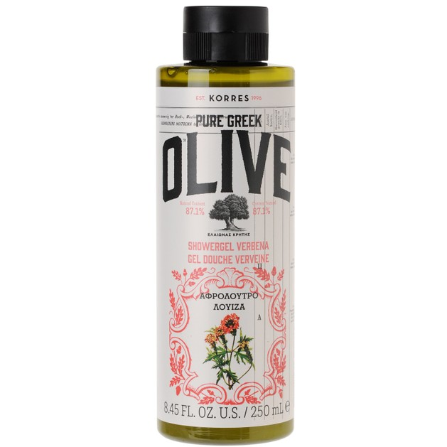 Korres Pure Greek Olive Showergel Verbena 250ml
