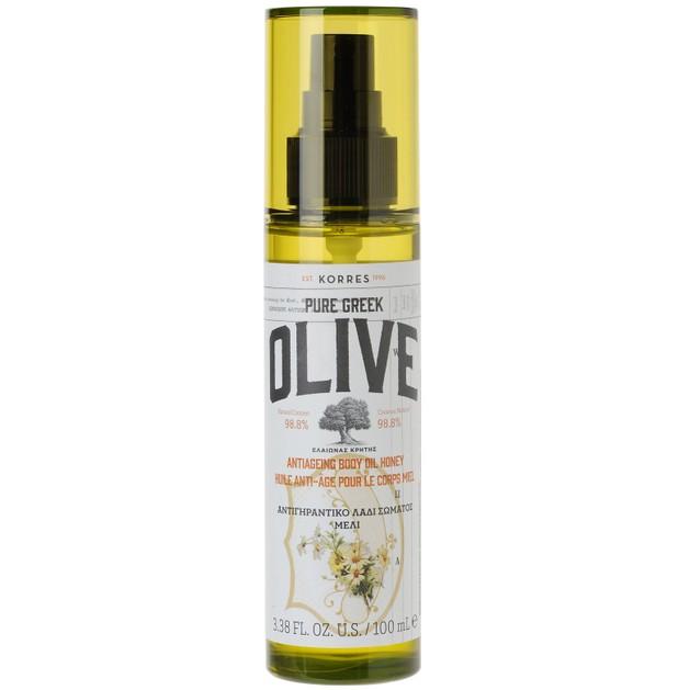 Korres Pure Greek Olive Antiageing Body Oil Honey 100ml