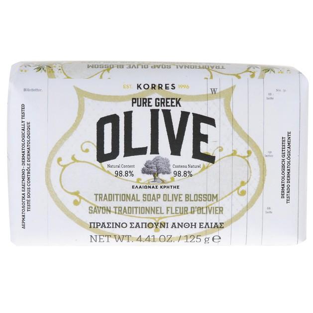 Korres Pure Greek Olive Tradional Soap Olive Blossom 125gr