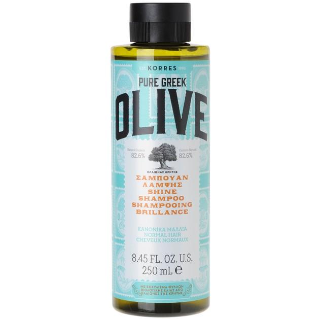 Korres Pure Greek Olive Shampoo για Κανονικά Μαλλιά 250ml
