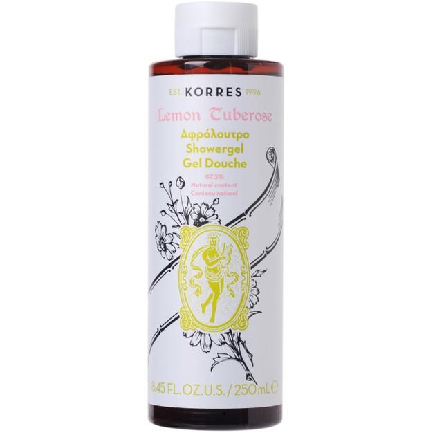 Korres Lemon Tuberose Showergel 250ml