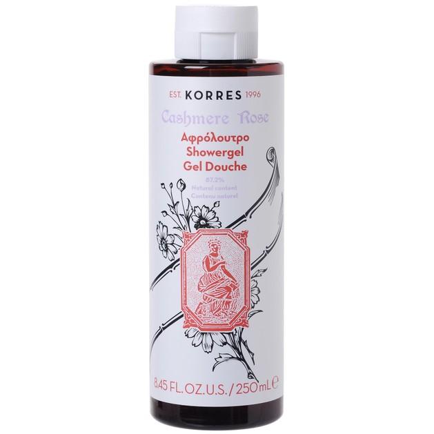 Cashmere Rose Showergel 250ml - Korres