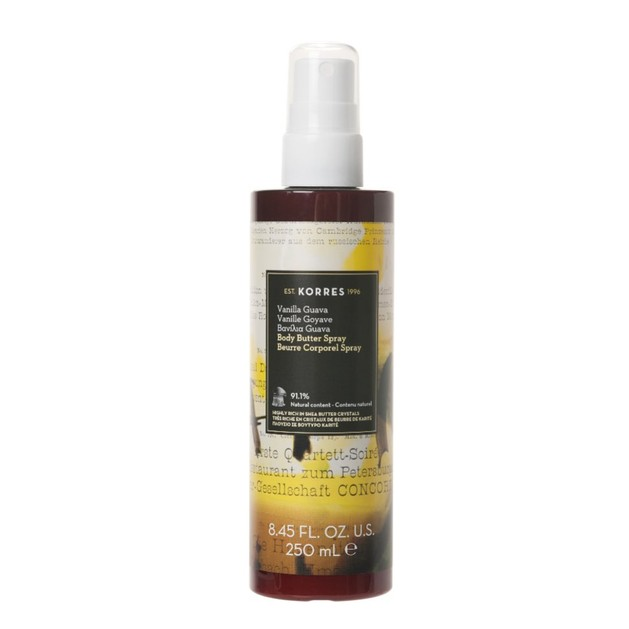 Korres Vanilla Guava Body Butter Spray 250ml
