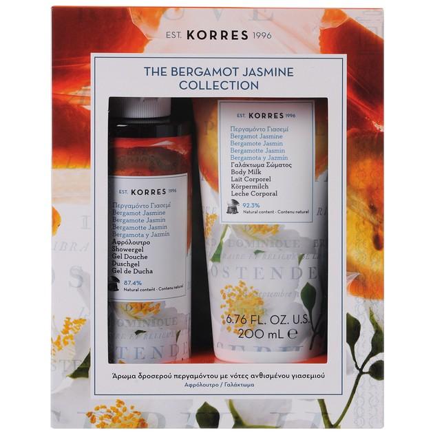 Korres Promo Bergamot Jasmine Περγαμόντο Γιασεμί Showergel Αφρόλουτρο 250ml & Body Milk Γαλάκτωμα 200ml σε Ειδική Τιμή