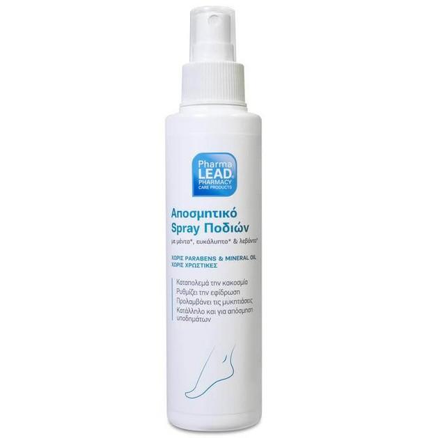 Pharmalead Αποσμητικό Spray Ποδιών Προστασίας & Περιποίησης 150ml