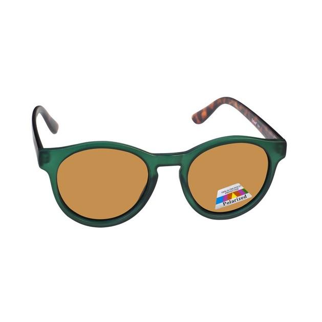 Eyelead Γυαλιά Ηλίου Unisex με Πράσινο - Καφέ Σκελετό L641
