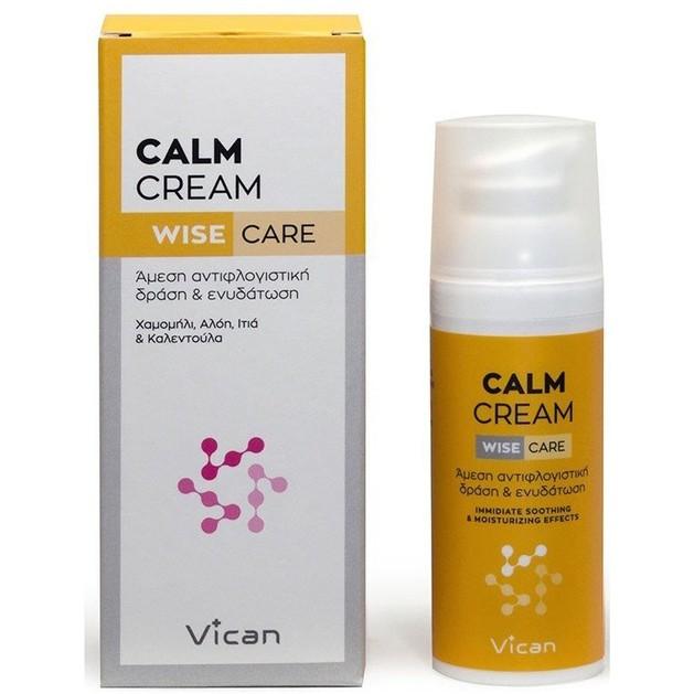 Vican Wise Care Calm Cream 50ml