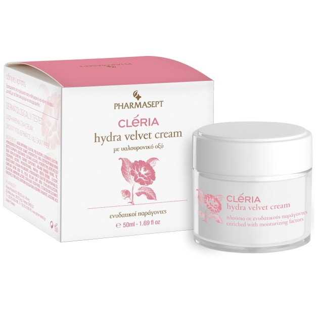 Cleria Hydra Velvet Cream 50ml - Pharmasept