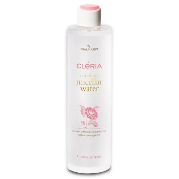 Δώρο Pharmasept Cleria Refreshing Micellar Water Νερό Ντεμακιγιάζ για Πρόσωπο & Μάτια All Skin Types 300ml