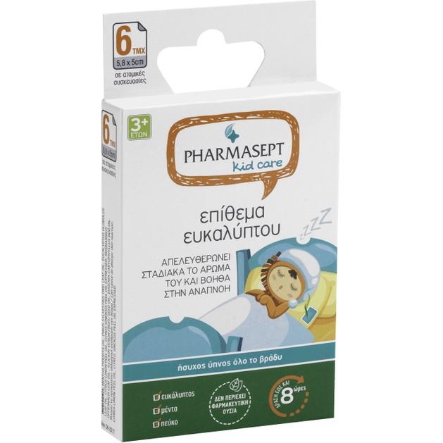 Pharmasept Kid Care Επίθεμα Ευκαλύπτου 6 τμχ