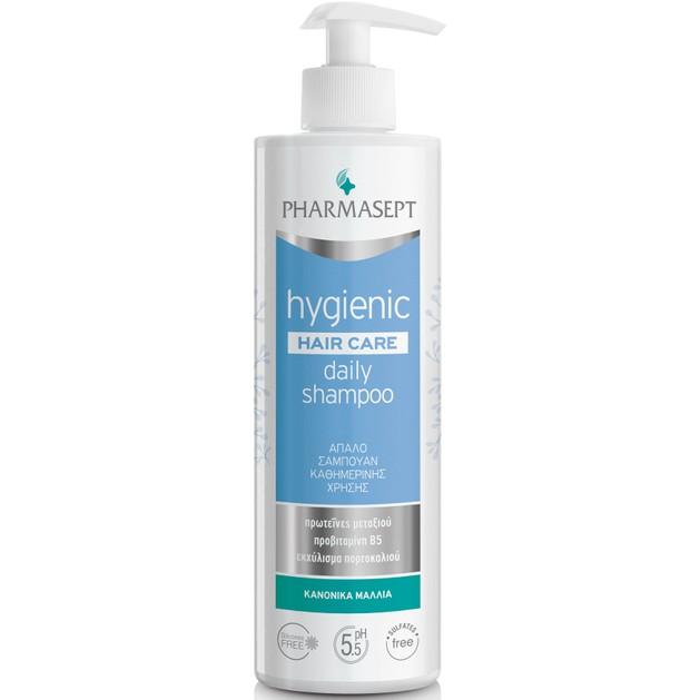 Pharmasept Hygienic Hair Care Daily Shampoo Απαλό Σαμπουάν Καθημερινής Χρήσης για Κανονικά Μαλλιά 500ml