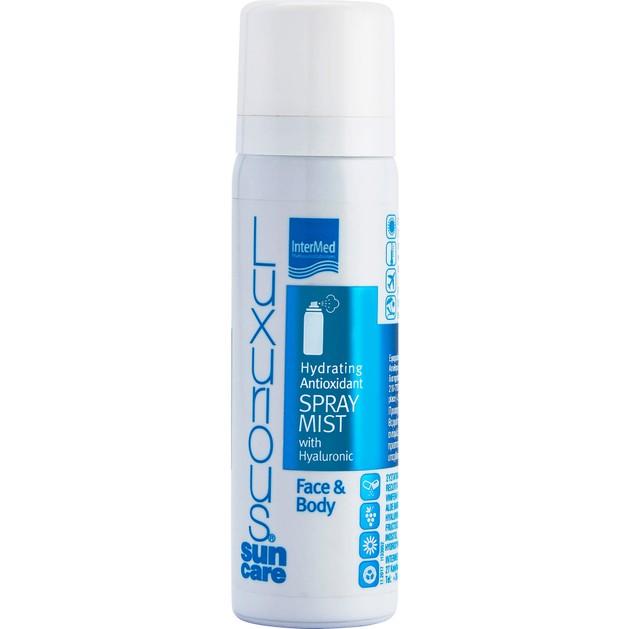 Luxurious Sun Care Hydrating Antioxidant Mist With Hyaluronic Face & Body Ενυδατικό Mist, Προστασία από την Πρόωρη Γήρανση 50ml