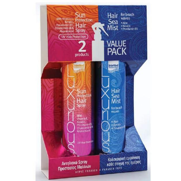 Luxurious Πακέτο Προσφοράς Luxurious Hair Sea Mist 200ml & Luxurious Sun Care Hair Protection Spray 200ml
