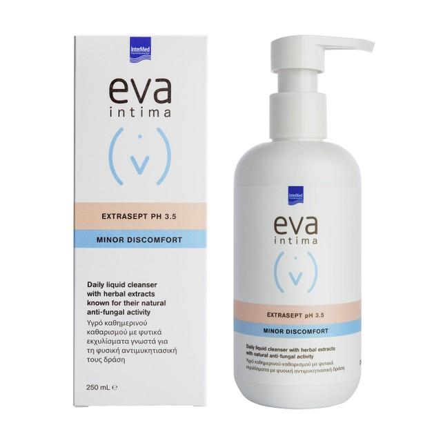 Intermed Eva Intima Extrasept PH3.5 Minor Discomfort Υγρό Καθημερινού Καθαρισμού Ευαίσθητης Περιοχής 250ml
