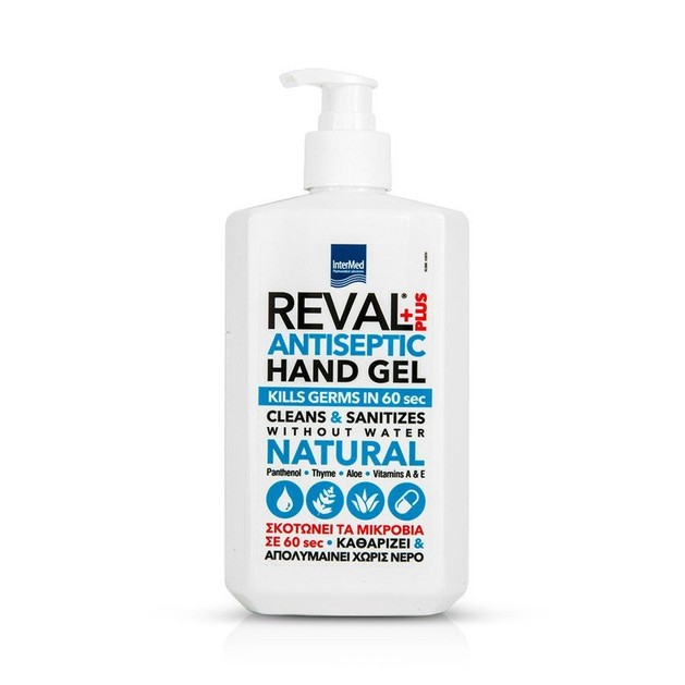 Intermed Reval Plus Antiseptic Hand Gel Αντισηπτικό Τζελ 500ml