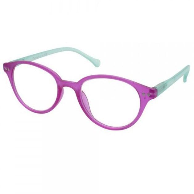 Eyelead Γυαλιά Διαβάσματος Unisex Φούξια - Τυρκουάζ Κοκκάλινο Ε171