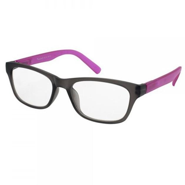 Eyelead Γυαλιά Διαβάσματος Unisex Μαύρο - Φούξια Κοκκάλινο Ε175