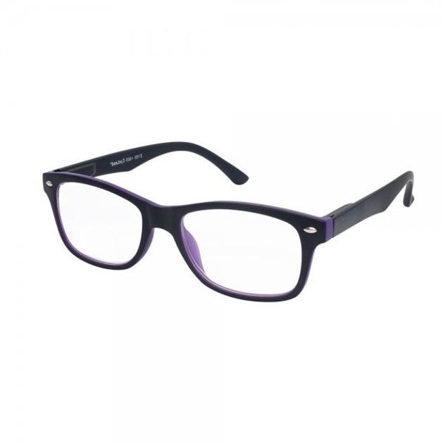 Eyelead Γυαλιά Διαβάσματος Unisex Μωβ - Μαύρο Καουτσούκ E193