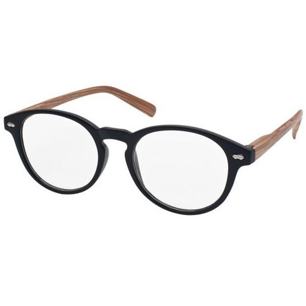 Eyelead Γυαλιά Διαβάσματος Unisex Μαύρο με Ξύλινο Βραχίονα Ε187