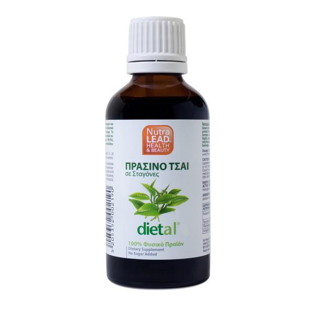 Nutralead Dietal Πράσινο Τσάι 50ml