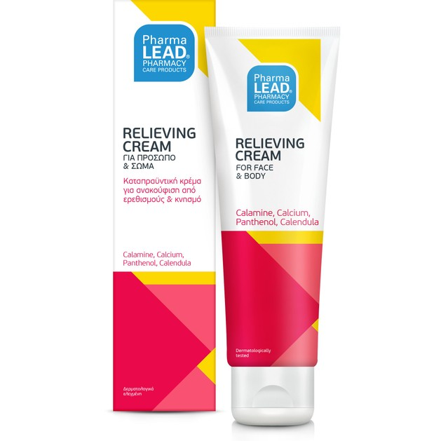 Pharmalead Relieving Cream Καταπραϋντική Κρέμα για Ανακούφιση από Ερεθισμούς & Κνησμό 100ml